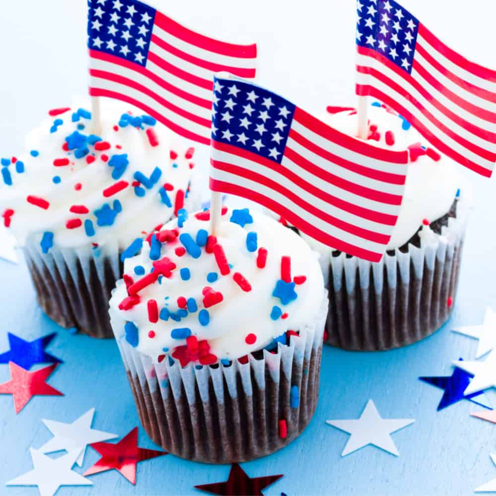 4th of July Jello Treats and Desserts