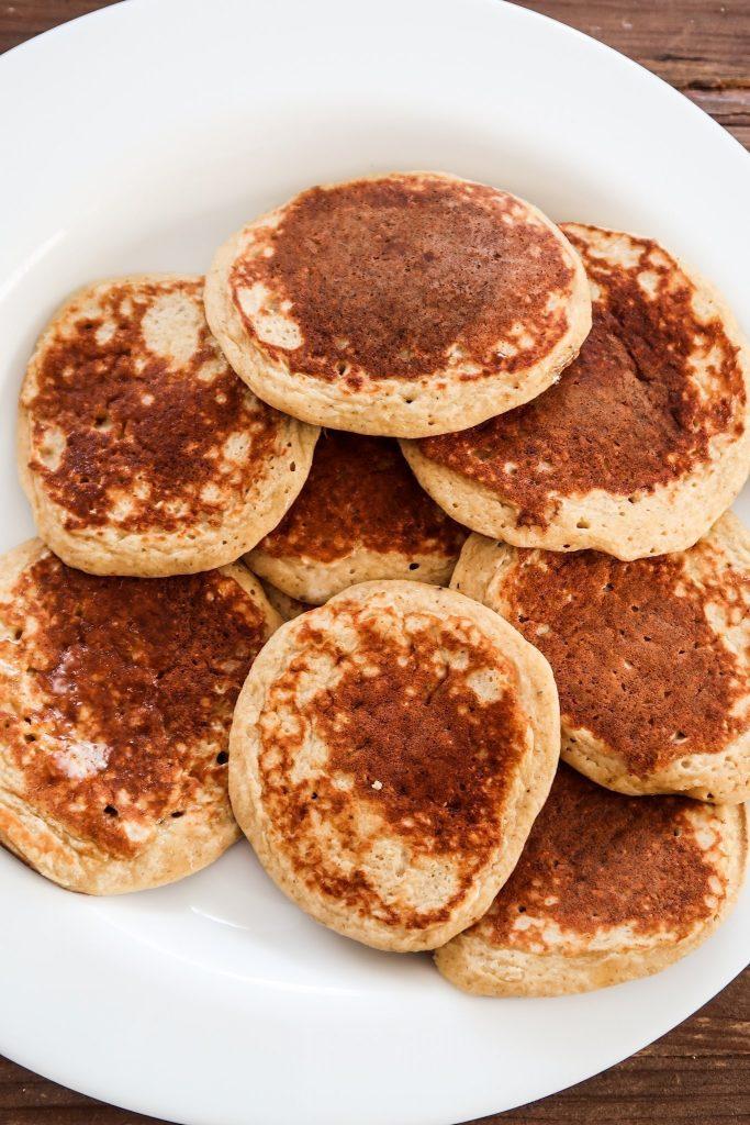 Healthy versions of junk food - banana pancakes