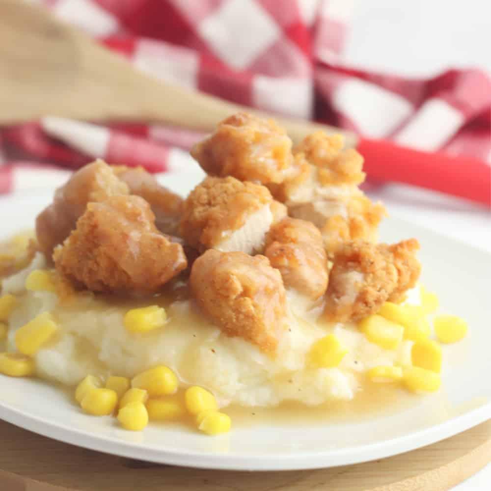Chicken and Gravy Dinner