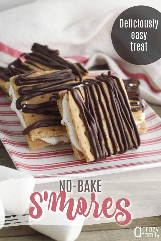 no-bake s'mores pin image