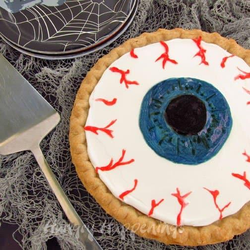 Pumpkin pie eyeball
