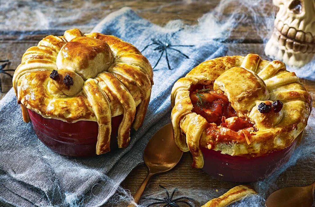 Spider pies