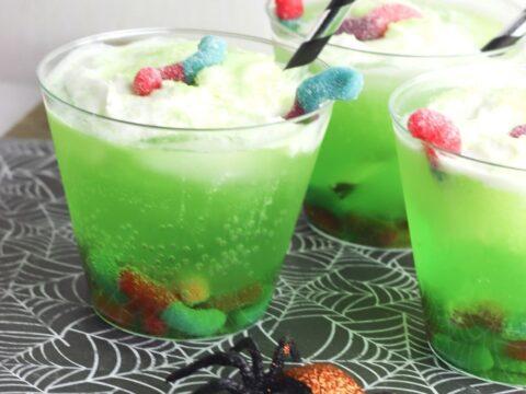 Creepy & Crawly Bug Punch Mocktail