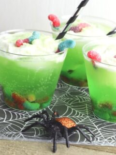 Bug Punch Mocktail for Halloween
