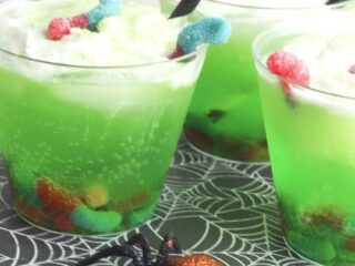 Bug Punch Mocktail for Halloween