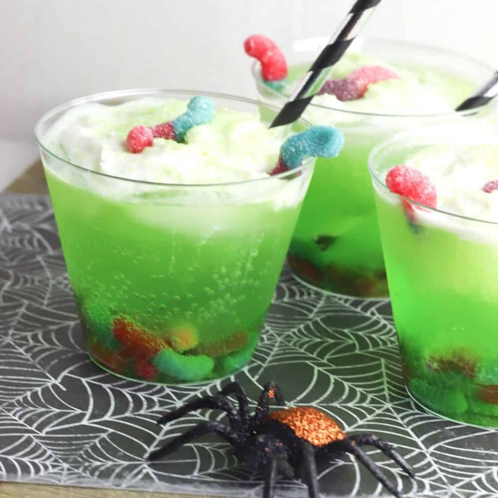 Creepy & Crawly Bug Punch Mocktail
