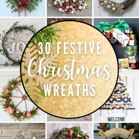 30+ Super Easy Festive DIY Christmas Wreaths