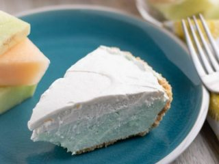 Cool and Creamy Melon Pie
