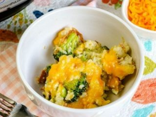 Instant Pot Ham and Broccoli Rice Casserole
