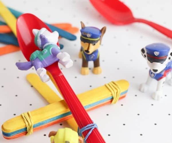 DIY Toy Catapult STEM Activity