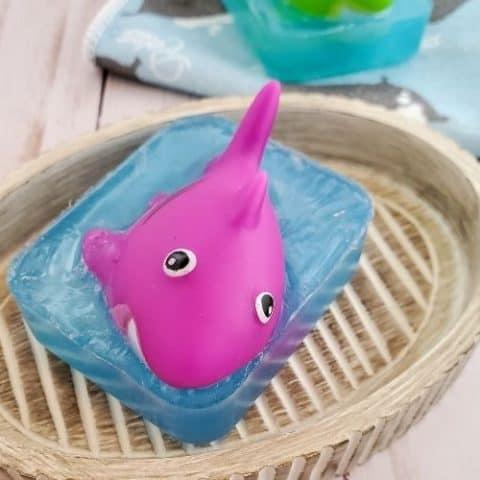 Cute Shark Toy Soap